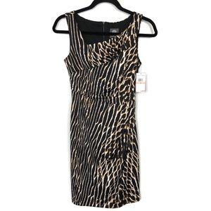 NWT Vince Camuto Animal Print Dress Size 2